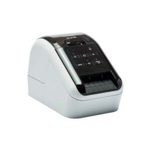 BROTHER Impresora de etiquetas térmica/62mm/WiFi/USB/110epm/impresión negro-rojo