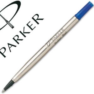 PARKER Recambio rotulador roller parker 0.8 azul