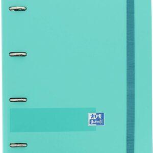 OXFORD EUROPEANBINDER+ POLYFOAM A4 CON RECAMBIO 100 H. 5×5 ICE MINT