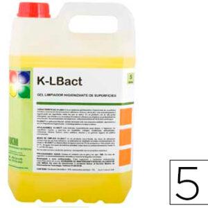 Limpiador higienizante desodorizante garrafa 5 litros.