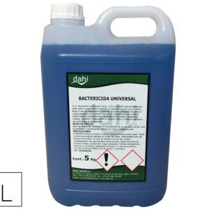Limpiador bactericida desbakazul sin aclarado garrafa 5 litros.
