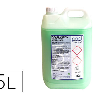 Limpiador jabon para manos bactericida garrafa 5 litros.
