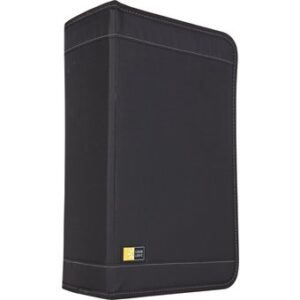 CASE LOGIC FICHERO CON CREMALLERA 128 CD´S/DVD´S NEGRO