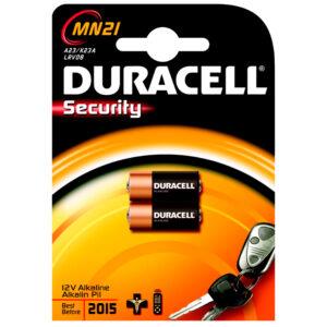 DURACELL BLISTER 2 PILAS ALCALINA SECURITY 12V