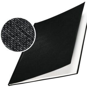 LEITZ Cubierta encuadernación Impressbind 7 mm Negro A4 Lino