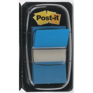 POST-IT Indices adhesivos Index Dispensador 50 ud 25,4×43,1 Azul vivo