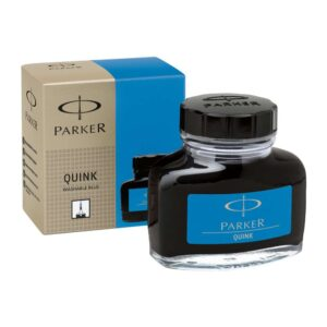 PARKER Tintero Quink 57 ml azul real lavable