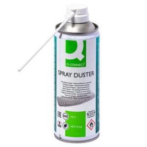 Q-CONNECT Pulverizador Aire a presion para limpieza general bote de 400 ml.